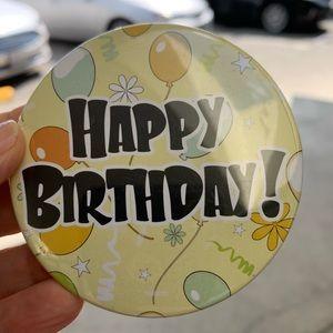 New Happy Birthday Pin!